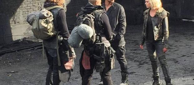 The 100, temporada 5: Clarke y Bellamy se reencuentran en estas ... - peru.com