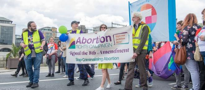 Ireland divided on the issue of abortion.
