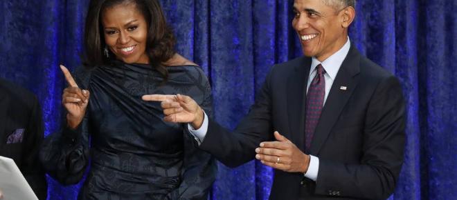 Michelle y Barack Obama se invitan a sí mismos en Netflix
