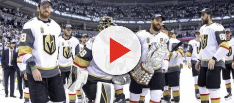 The Vegas Golden Knights are on the verge of history. [Image via USA Today Sports/YouTube]