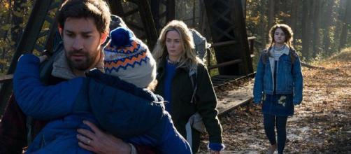 """""""A quiet Place"""" la nueva película de terror entra en boca de muchos cinefilos del terror."""