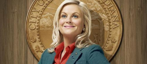 "Amy Poehler as beloved ""Parks and Rec"" character Leslie Knope"