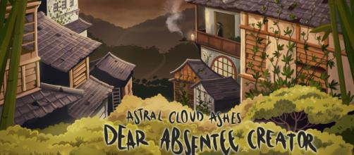"""Dear Absentee Creator"" de Astral Cloud Ashes, Mayo 2018."