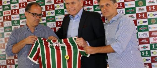 Diretoria se une para manter Paulo Autuori no Fluminense (Foto: Divulgação/Fluminense FC)
