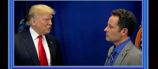 Donald Trump makes rare appearance on 'Fox & Friends' on Thursday morning. Photo: USA Today/YouTube Screenshot
