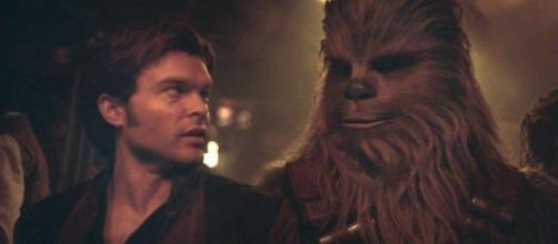 Han Shot primero, sino el primer disparo de Han. Porque después de solamente ver: Una historia de Star Wars