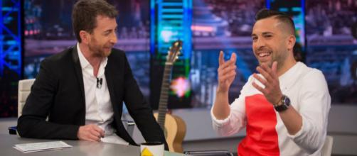 Jorsi alba habla de su amistad con los del Madrid - antena 3