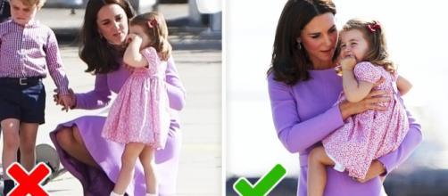 La crianza en la familia real británica