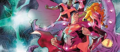 las páginas finales de Liga de la Justicia: No Justice nº 2