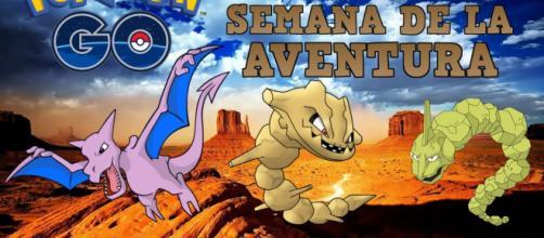 Los Pokémon de tipo roca, serán los protagonistas