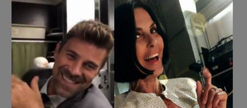 Marina Giordano e Valerio Viscardi un posto al sole Nina Soldano e Fabio Fulco