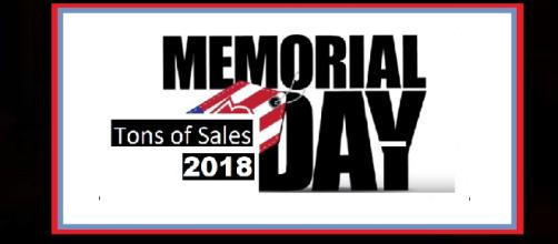 Memorial Day sales taking place in 2018. - [Photo: Josh Ferguson / YouTube Screenshot]