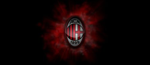 Milan 1899 Football Logo Dark Wallpapers HD Widescreen - ipicturee.com