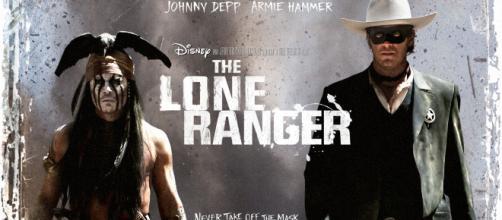 The Lone Ranger con Johnny Depp