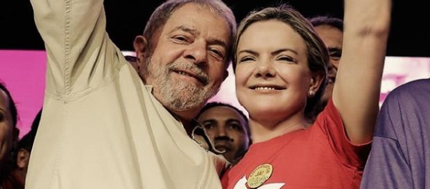 Ex-presidente Lula detona futuros candidatos ao Planalto por meio de Gleisi Hoffmann