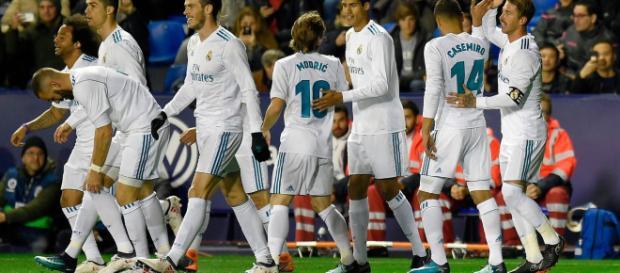 Levante 2-2 Real Madrid: Late goal for Levante denies Madrid ... - mirror.co.uk