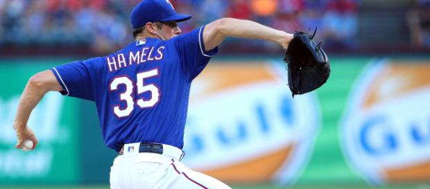 Where will Cole Hamels land this summer? [Image via Blxrr Highlights/YouTube]