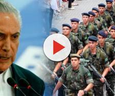 Militares reclamam de Temer nos bastidores