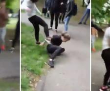 VIDEO: Elevă bătută cu sălbăticie de o colegă într-un parc din Timişoara