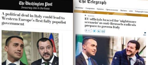 La stampa estera è piuttosto scettica verso l'alleanza di governo Lega-M5S.