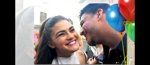 Bravo stars Brittany Cartwright and Jax Taylor. (Image from C.B. Channel / YouTube.)