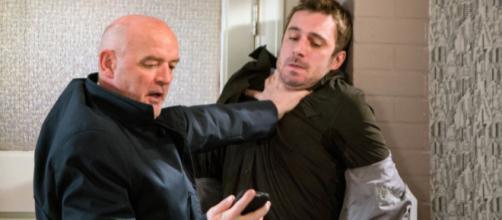 Coronation Street's Pat Phelan is set to take another victim ... image credit- digitalspy.com