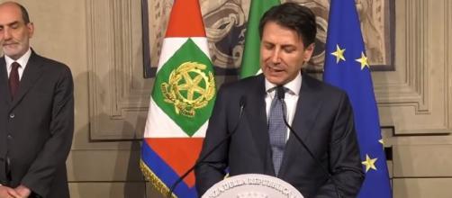 Il presidente del Consiglio incaricato Giuseppe Conte
