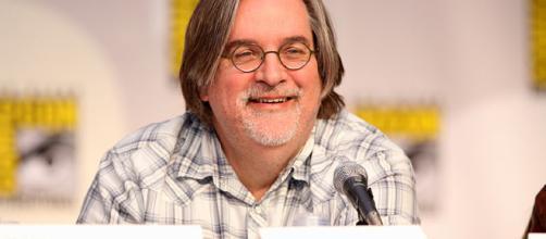 Matt Groening [image courtesy Gage Skidmore Wikimedia commons]