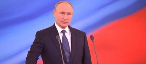 Putin en público. Fuente: @PutinRF_Eng