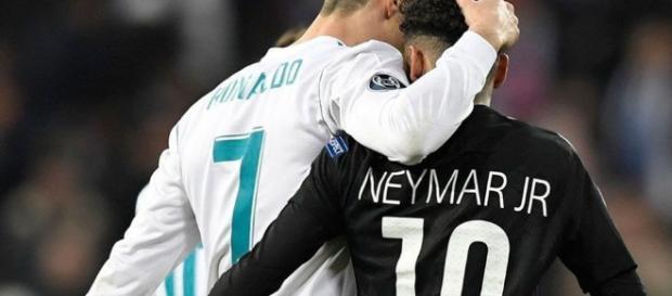 Cristiano Ronaldo y Neymar podrían jugar juntos