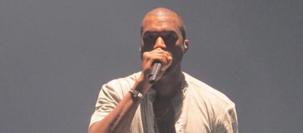 Kanye West performs live on tour. [Image source: Flickr - Peter Hutchins]