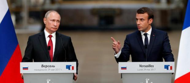 Le voyage risqué de Macron en Russie - RFI - rfi.fr