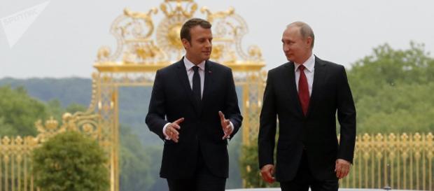 Los resultados de la reunión de Macron y Putin - Sputnik Mundo - sputniknews.com