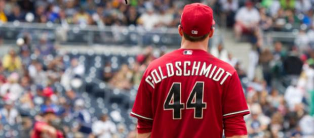 Paul Goldschmidt has played like a shell of his former self in the beginning of 2018. (Image via: San Diego Shooter/Flickr)