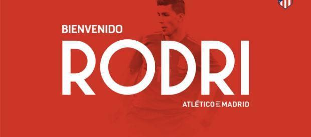 El Atlético de Madrid ficha a Rodri