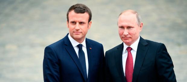 Putin y Macron buscarán puntos de acercamiento en medio de tensión ... - latercera.com