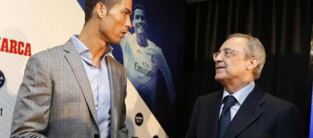 """Real Madrid: Florentino Pérez: """"Defenderé siempre a Cristiano como ... - marca.com"""