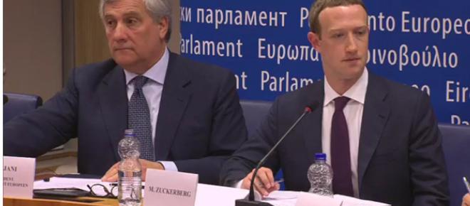 Mark Zuckerberg habla ante la Unión Europea sin dar muchas explicaciones