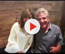 TLC reality star Matt Roloff (right) with Caryn Chandler, his girlfriend. - [CelebrityStatus / YouTube screencap]