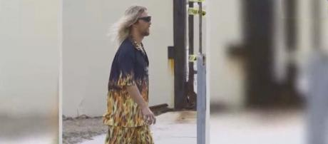 """Matthew McConaughey was """"Snooped"""" by rapper Snoop Dogg while filming """"The Beach Bum"""" [Image Jimmy Kimmel Live/YouTube]"""