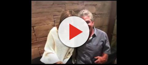 TLC reality star Matt Roloff (right) with Caryn Chandler, his girlfriend. - [CelebrityStatus / YouTube screencap]