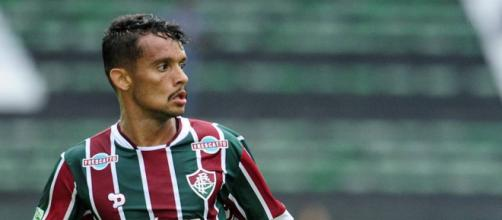 Internacional entra em contato com Fluminense para o empréstimo de Scarpa. (foto reprodução).