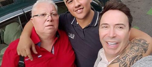 Mestro Joao junto a su amistad especial, Luismi 'El Niño', Fotografía: Instagram personal Maestro Joao