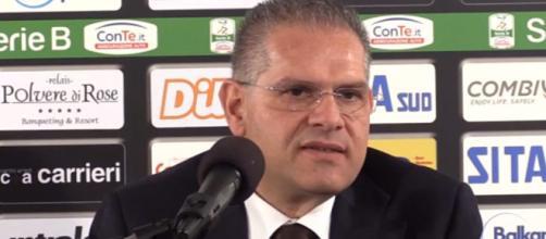 Serie B, striscioni contro Giancaspro - - primativvu.it