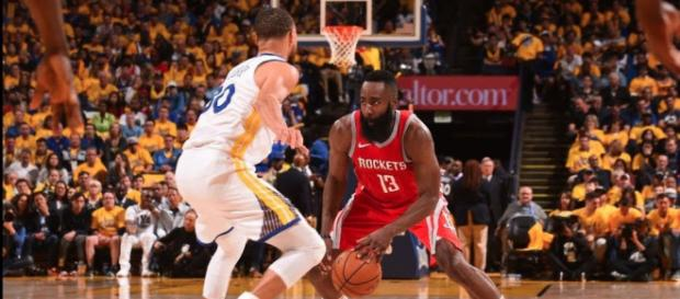 Golden State hosts Houston in a must-win Game 6 of the Western Conference Finals. - [Image via NBA / YouTube screencap]