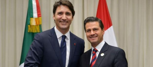 Peña Nieto y Trudeau discuten sobre el TLC en llamada telefónica - lopezdoriga.com