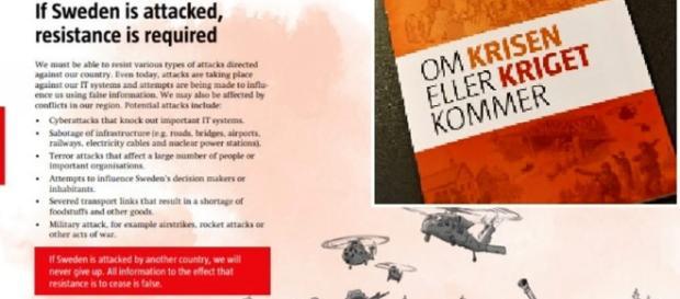 Svezia, un opuscolo casa per casa prepara la gente alla guerra - today.it