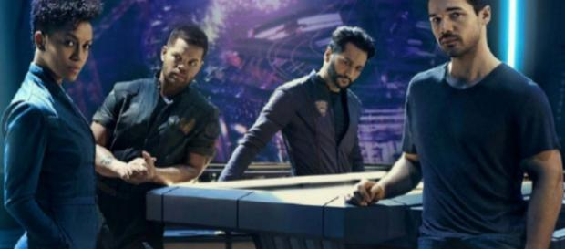 """""""The Expanse"""" has officially been rescued by Amazon Prime. [Image What the Geek/YouTube]"""