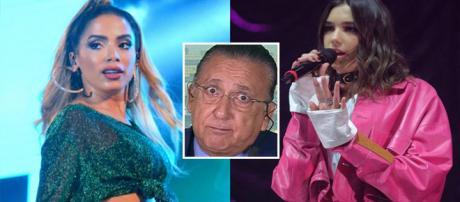 Cantora da Champions League é comparada a Anitta. (foto reprodução)