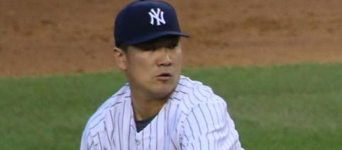 Masahiro Tanaka gave the Yankees' bullpen a bit of a break after being worked yesterday. - [Photo from Arturo Pardavilla III / Flickr]